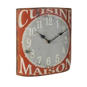 Drevené hodiny Antic Line Café, 59cm