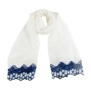 Šatka Florentine White/Blue