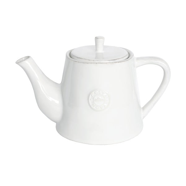 Biela keramická kanvica na čaj Ego Dekor Nova, 1,07 l