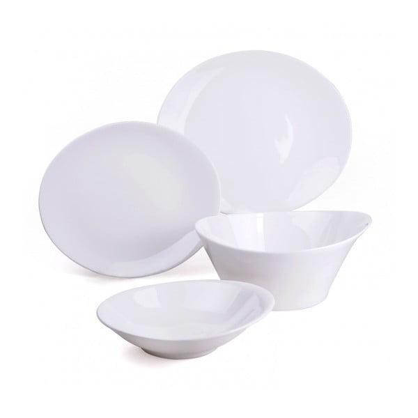 Porcelánová sada tanierov a mís, 15dielna