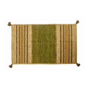 Ručne tkaný koberec Kilim Tribal 103, 90x60 cm