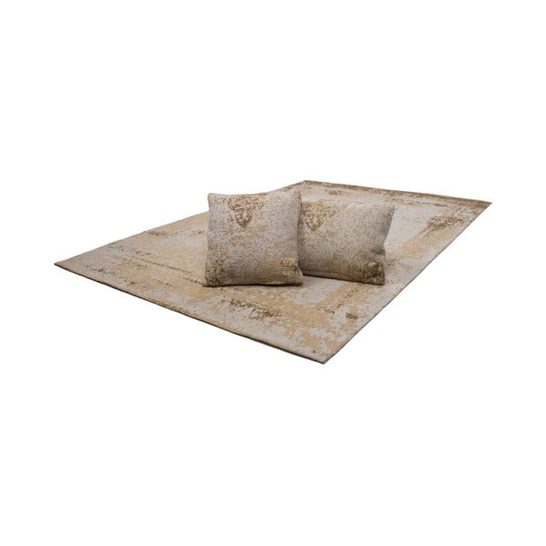 Vankúš Select Sand, 45x45 cm
