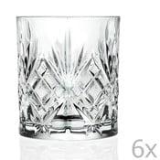 Sada 6 pohárov z krištáľového skla Côté Table Amedea, 310ml