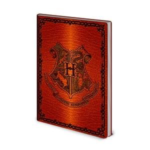Linajkový zápisník A5 Pyramid International Harry Potter Hogwarts, 72 strán