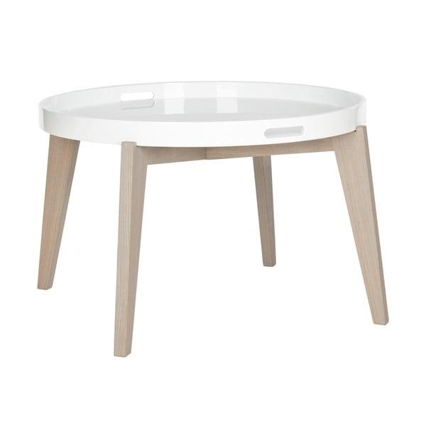Konferenčný stolík so svetlými nohami Safavieh Echo