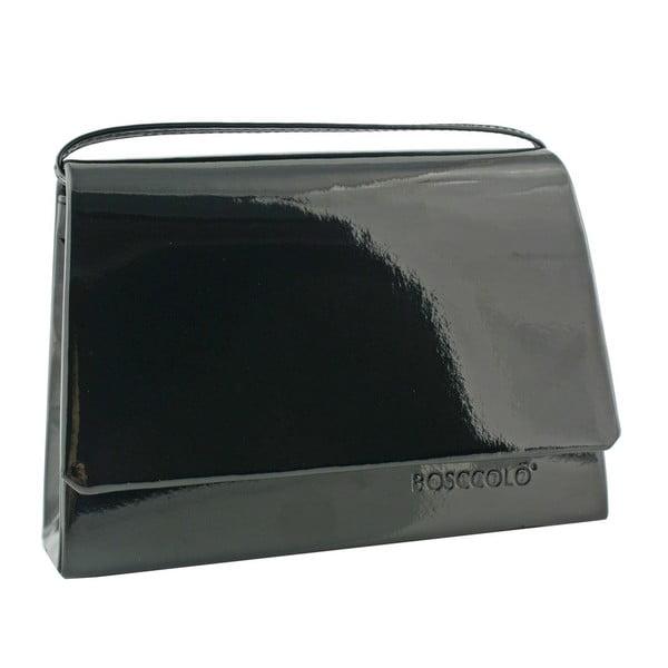 Kožená kabelka/listová kabelka Boscollo Black 3154