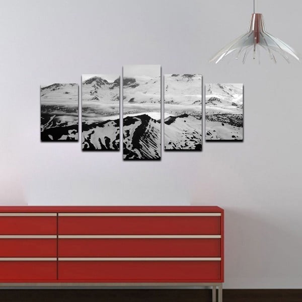 Viacdielny obraz Black&White Hills