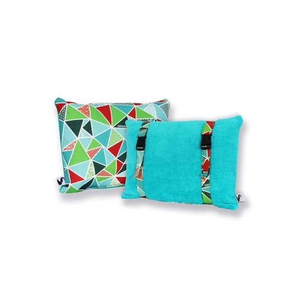 Vodeodolný, obojstranný vankúšik Dream Pillow Water Geo