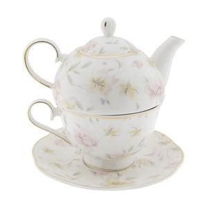 Porcelánová čajová souprava Clayre & Eef Anastasia