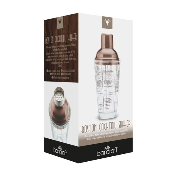 Medený šejker Kitchen Craft Bar Craft, 500 ml