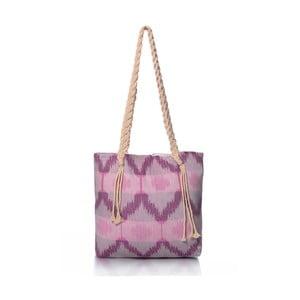 Fialová taška Homedebleu Ripple, 50x40cm