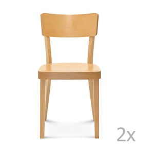 Sada 2 drevených stoličiek Fameg Lone