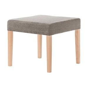 Gaštanová hnedá stolička s hnedými nohami Ted Lapidus Maison Pétale