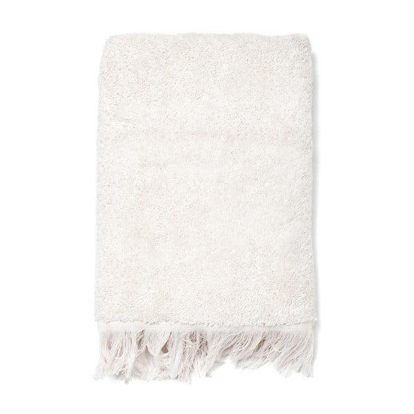 Sada 2 krémových bavlnených uterákov Casa Di Bassi Face, 50x90cm