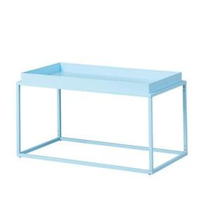 Svetlomodrý kovový konferenčný stolík Intersil Club NY