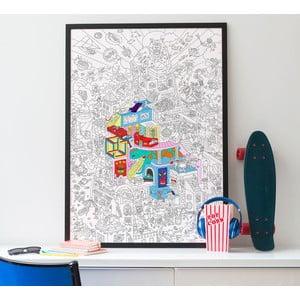 Maľovanka OMY Party (70 x 100 cm)