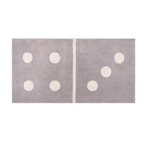 Detský koberec Domino Gris, 60x120cm