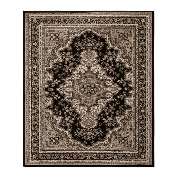 Koberec Hanse Home Prime Pile Ornamental Brown, 80 x 150 cm