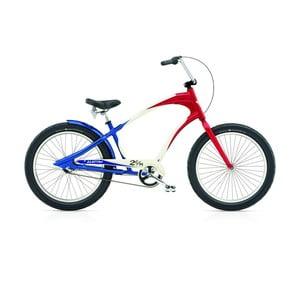 Pánsky bicykel Lakester 3i red/white/blue
