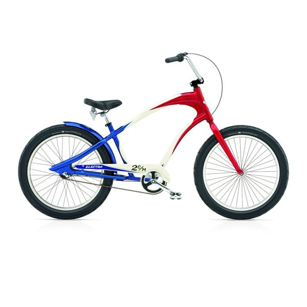 Pánsky bicykel Lakester 3i red/white/blue