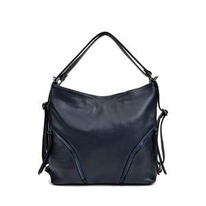 Tmavomodrá kožená kabelka Isabella Rhea Giuseppe