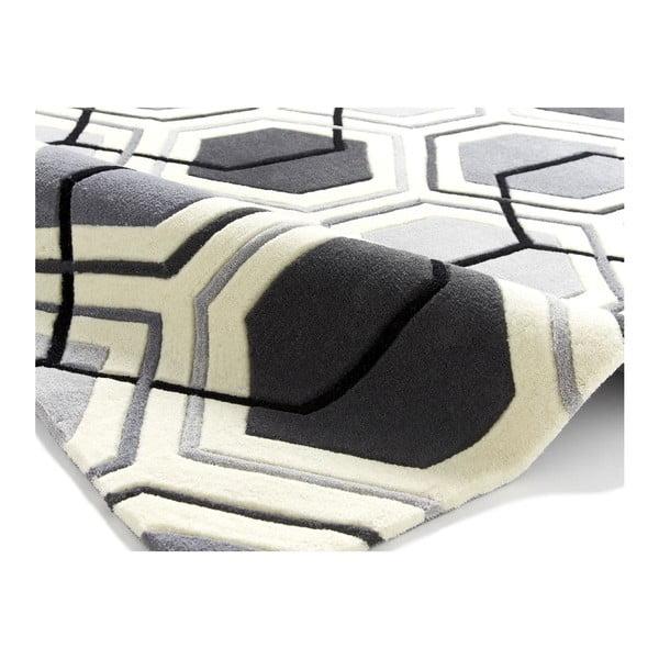 Koberec Flat 120x170 cm, sivý