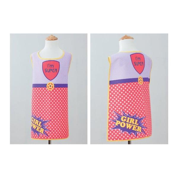Detská kuchynská zástera Super Girl