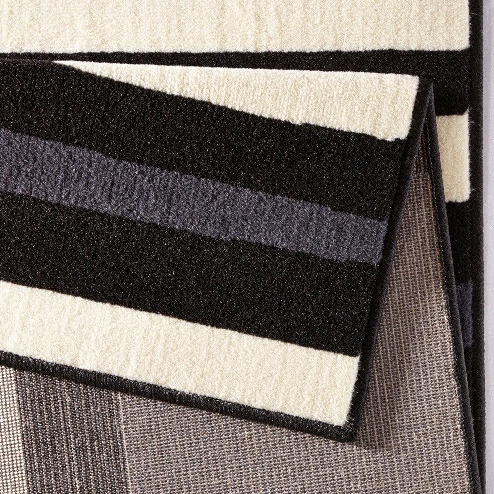 koberec hanse home hamla william black 80 x 150 cm bonami. Black Bedroom Furniture Sets. Home Design Ideas