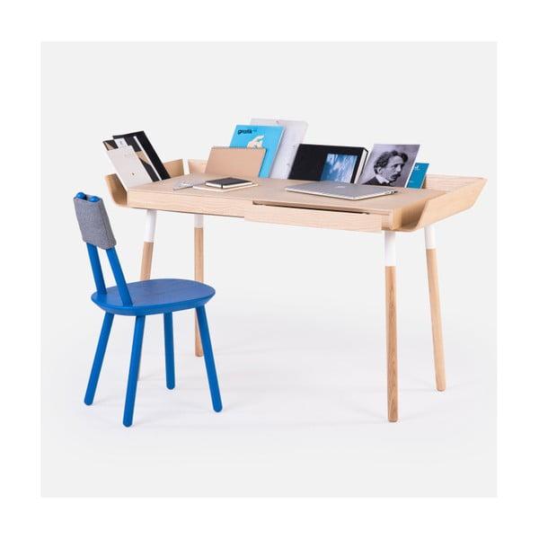 Prírodný písací stôl s 2 zásuvkami EMKO My Writing