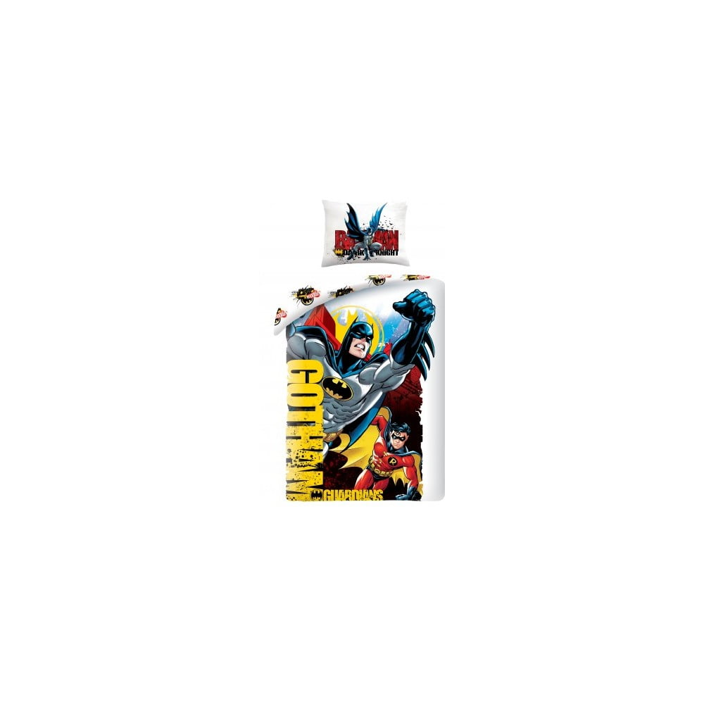 Bavlnené detské obliečky Halantex Superman, 140 x 200 cm