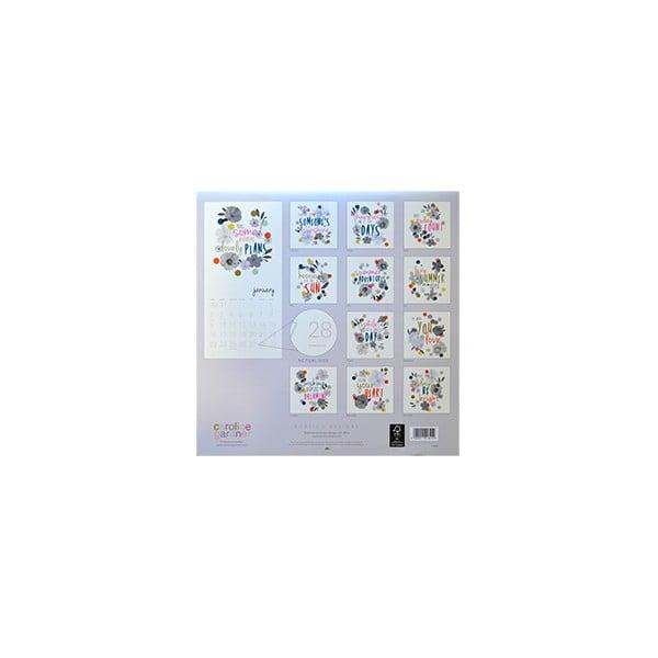 kalendár Portico Designs Wild Flowers