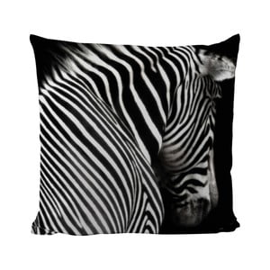 Vankúšik Black Shake Zebra Stripes, 50x50 cm
