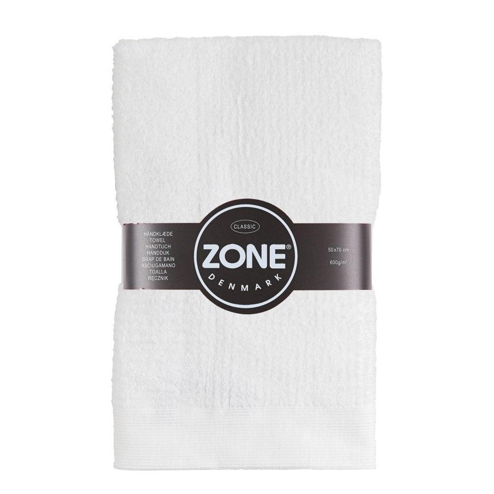 Biely uterák Zone Classic, 50 x 70 cm