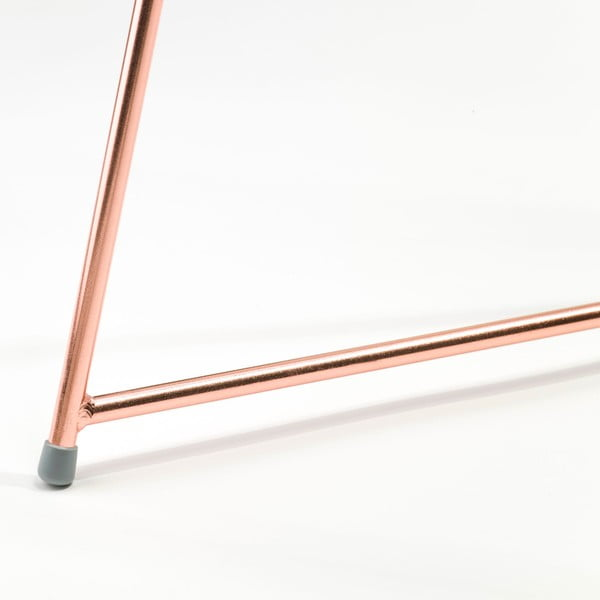 Podnož k stolu Narrow Copper, 70x55 cm