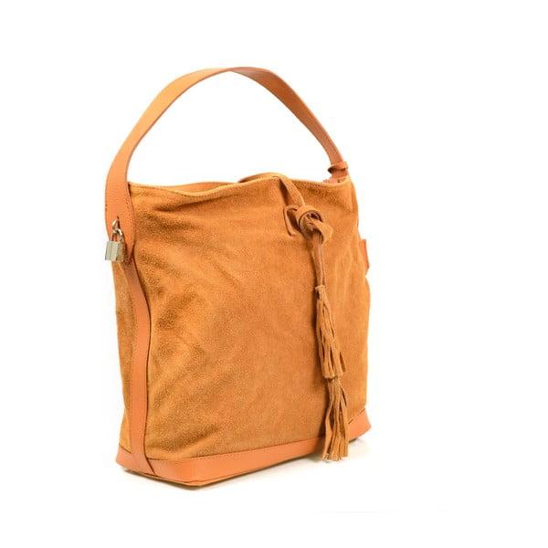 Kožená kabelka Stefie, ťavia