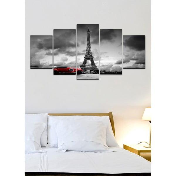 Viacdielny obraz Black&White no. 79, 100x50 cm