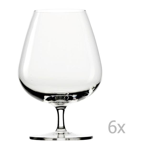 Sada 6 pohárov Stölzle Lausitz Grandezza Brandy, 610ml