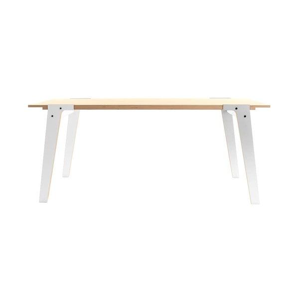 Biely jedálenský/pracovný stôl rform Switch, doska 180x78cm