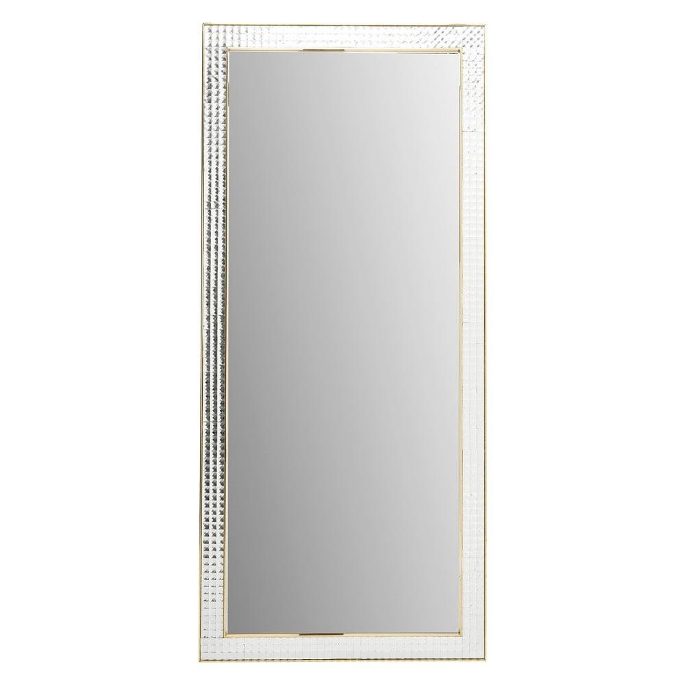211583f68 Nástenné zrkadlo Kare Design Crystals Gold 180 × 80 cm