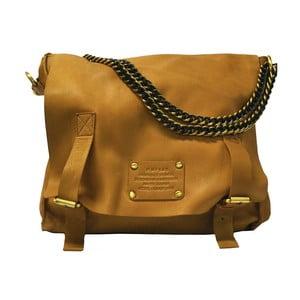 Hnedá kožená vintage brašna O My Bag Sleazy Jane