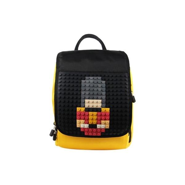 Pixelový batoh Pixelbag yellow/black