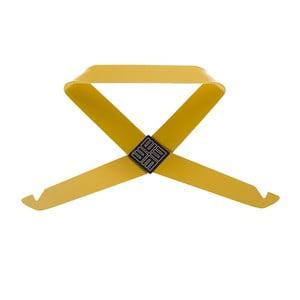 Žltý nástenný vešiak MEME Design Fiocco