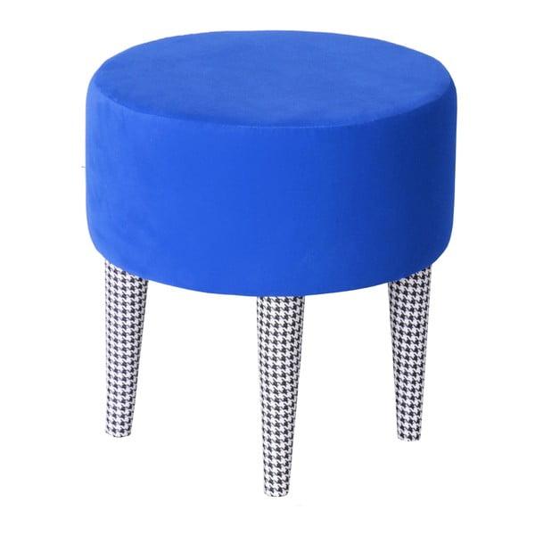 Taburetka Pepi, modrá