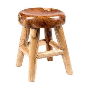 Záhradná stolička z teakového dreva Massive Home Cowboy