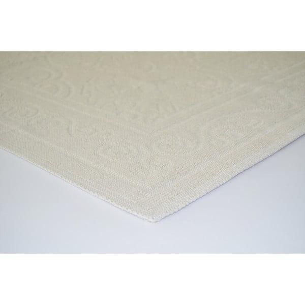 Krémový odolný koberec Vitaus Primrose, 100x150cm