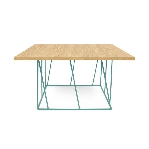 Konferenčný stolík so zelenými nohami TemaHome Helix,75cm