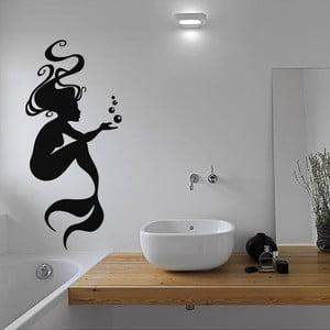 Samolepka Mermaid and Bubbles