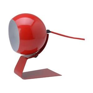 Červená stolová lampa Red Cartel Cameron