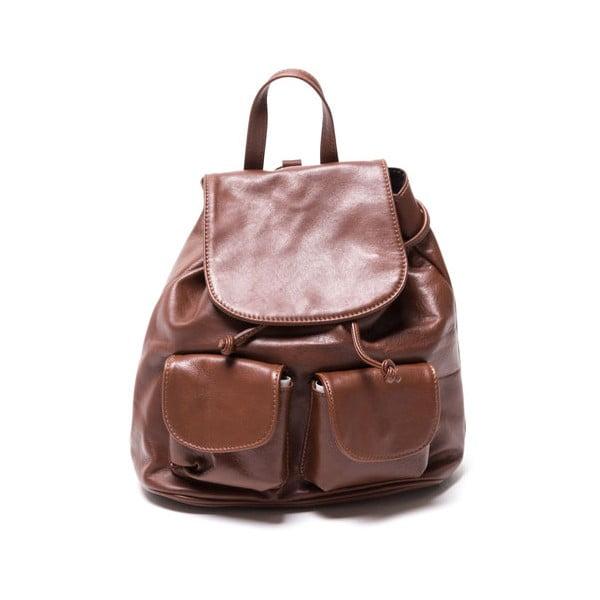 Kožený batoh Isabella Rhea 2127 Marrone