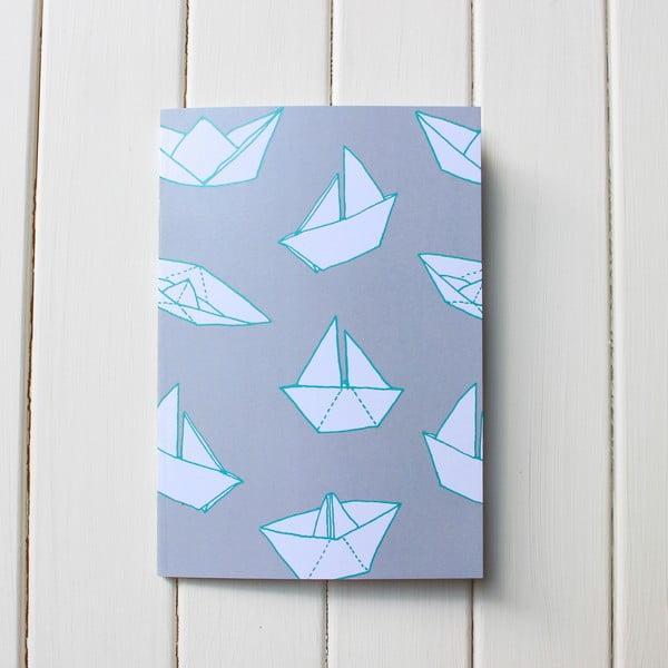 Zápisník Boats A5